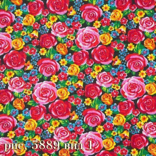 Фото 14 - Плательная ткань бязь 150 см (3889/1).