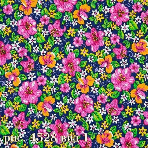 Фото 15 - Плательная ткань бязь 150 см (4328/3) Под заказ.
