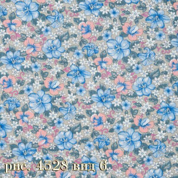 Фото 12 - Плательная ткань бязь 150 см (4328/7) Под заказ.