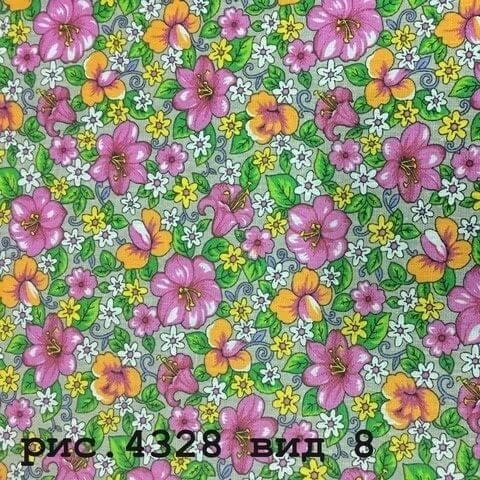 Фото 15 - Плательная ткань бязь 150 см (4328/8).